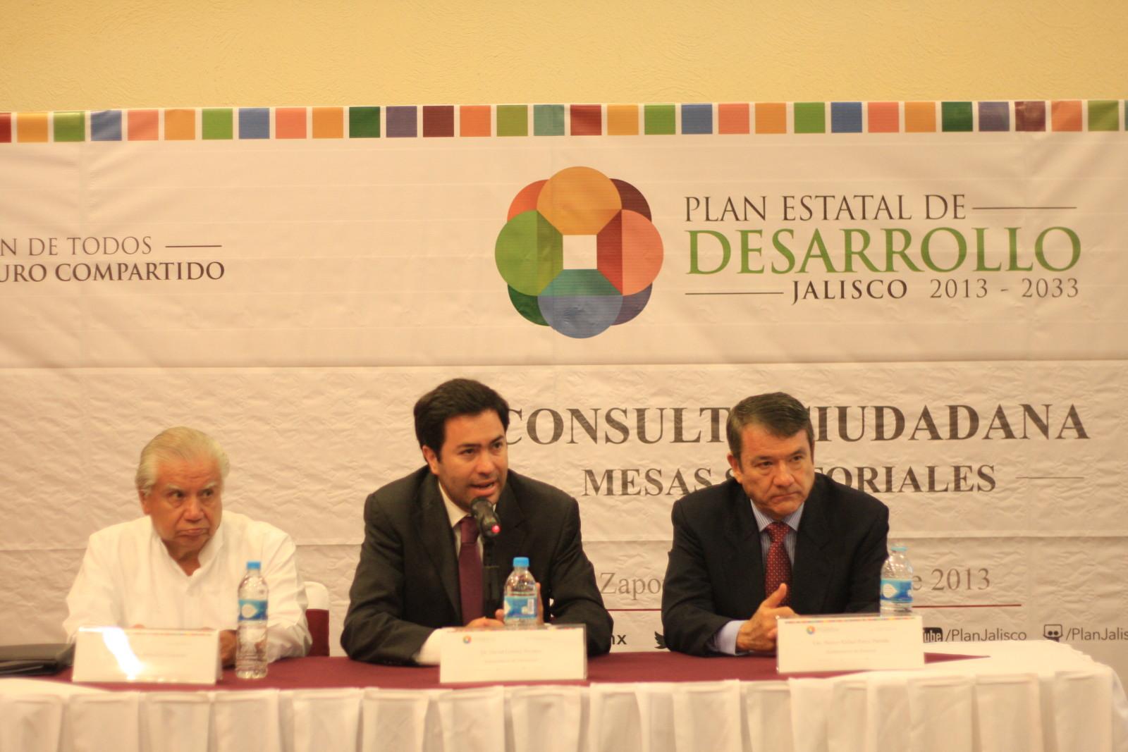 Realizan segunda mesa sectorial en consulta del PED