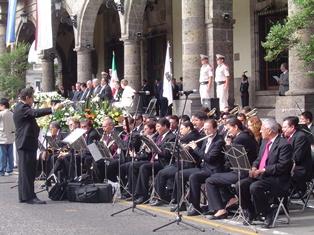 Serenatas tradicionales de la Banda de Música del Estado
