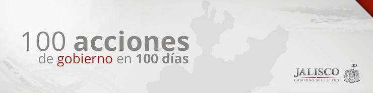 100 acciones de gobierno en 100 días