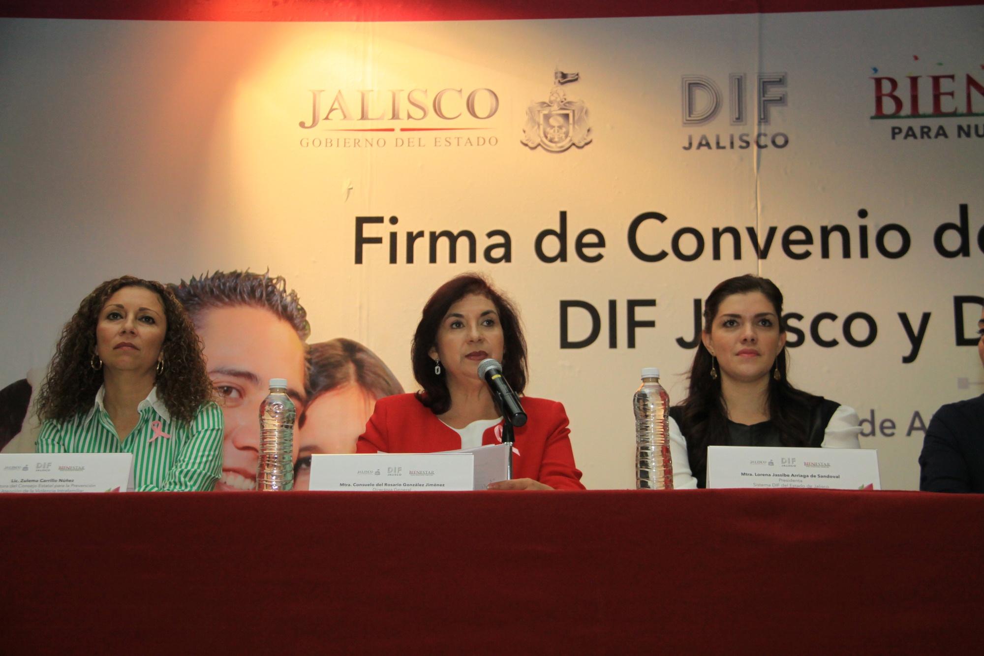 DIF Jalisco fortalece la atención en violencia intrafamiliar