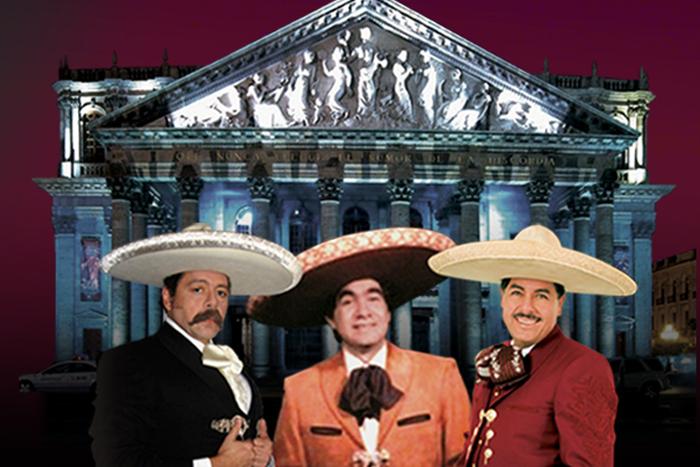 Concierto: Los 3 tenores mexicanos