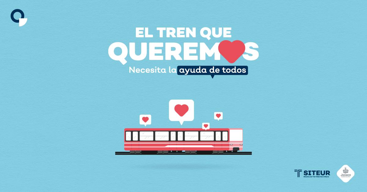 El tren que queremos necesita la ayuda de todos