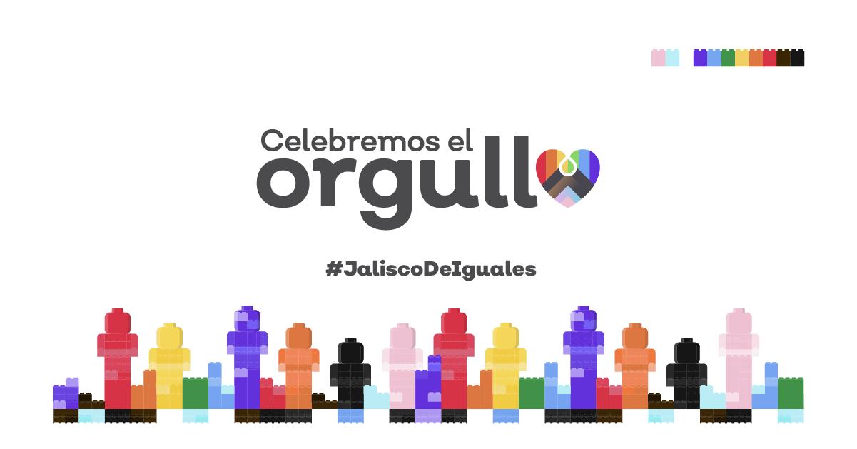 Celebremos el Orgullo - Programa de actividades para conmemorar el orgullo LGBT+