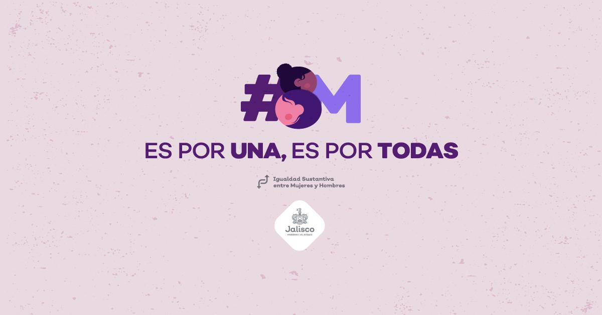 #8M : ES POR UNA, ES POR TODAS. CONOCE LAS ACTIVIDADES QUE TENEMOS PREPARADAS EN EL MARCO DEL DÍA INTERNACIONAL DE LA MUJER.