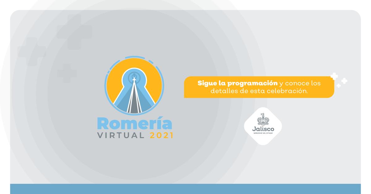 CONOCE LOS DETALLES DE LA ROMERÍA VIRTUAL 2021