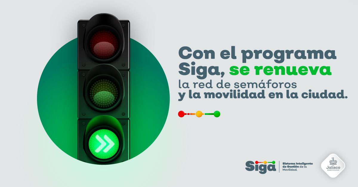 Con SIGA se renueva la red de semáforos y la movilidad en la ciudad