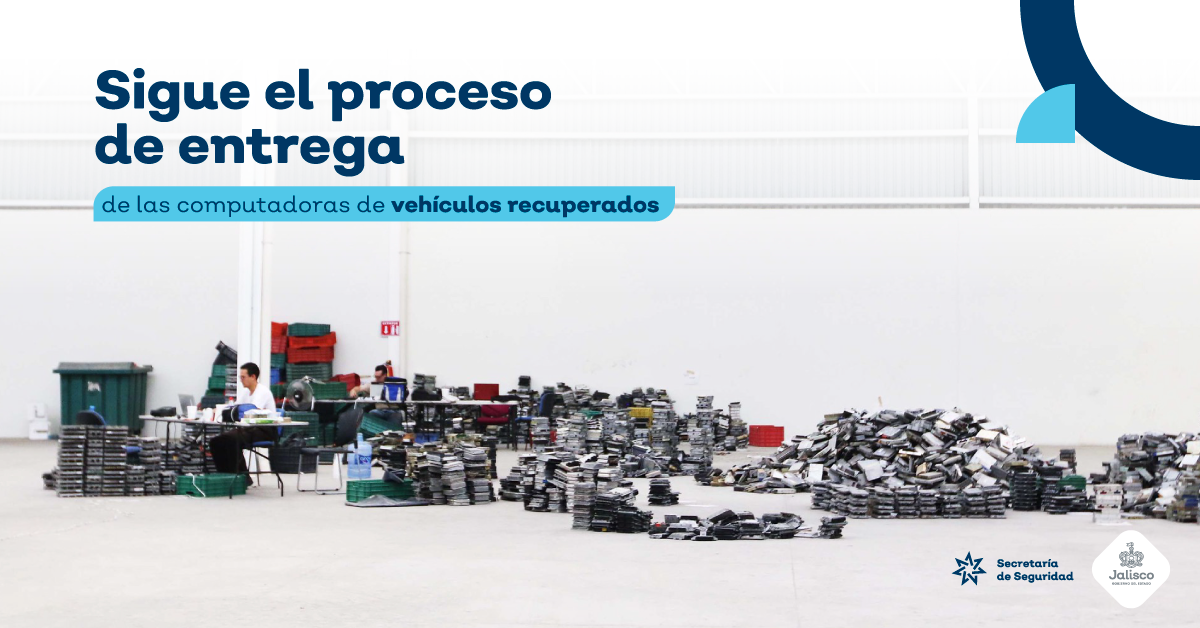 Proceso de entrega de computadoras automotrices recuperadas