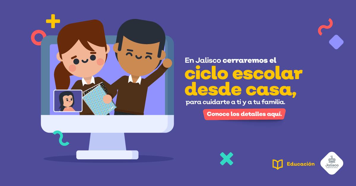 CONCLUSIÓN A DISTANCIA DEL CICLO ESCOLAR 2019-2020 FECHAS CLAVE