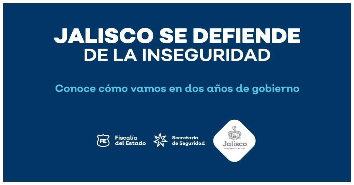 Jalisco se defiende. Seguimos trabajando para recuperar tu paz.  Corte Anual de Seguridad