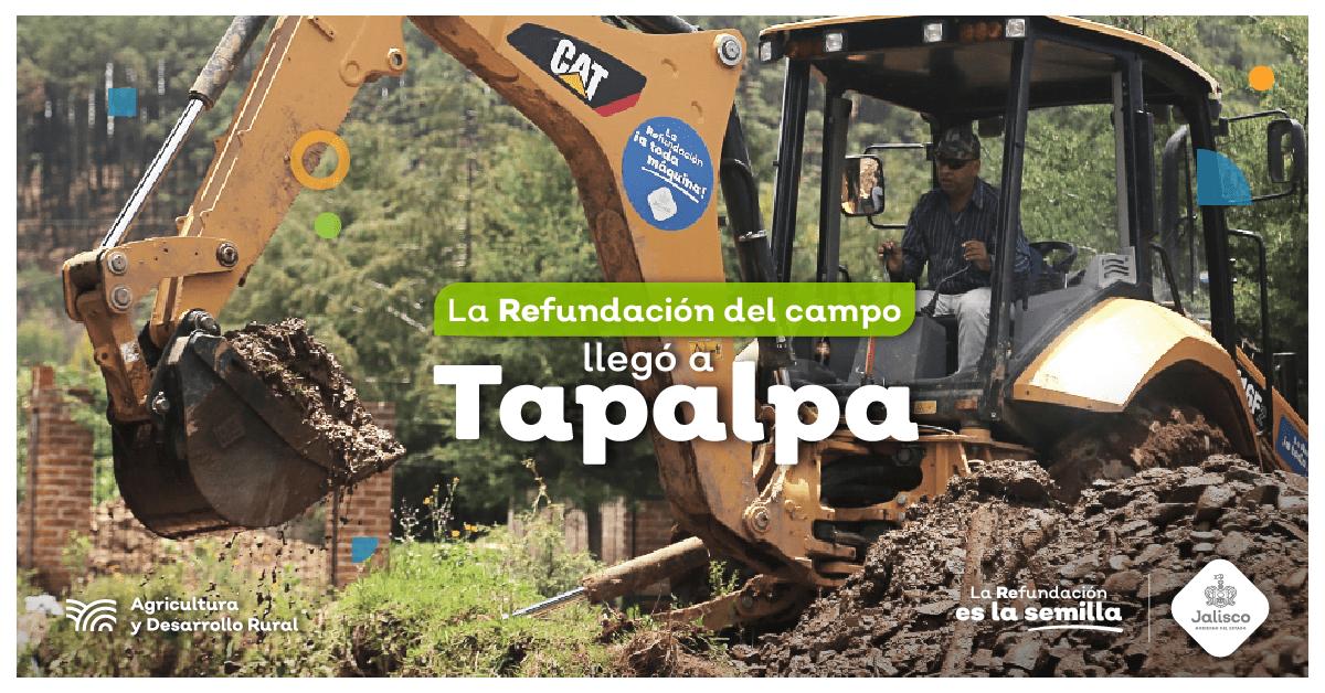 Tapalpa trabaja por la refundación del campo
