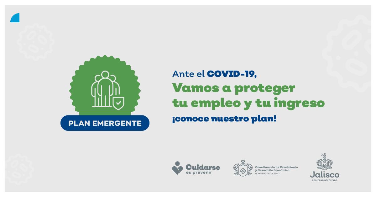 ¡Jalisco destinará 1,000 millones de pesos para apoyar a empresas y empleo!