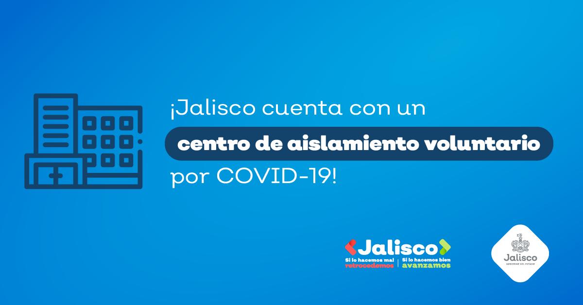 Abrimos el primer espacio de aislamiento voluntario para evitar más contagios por COVID-19