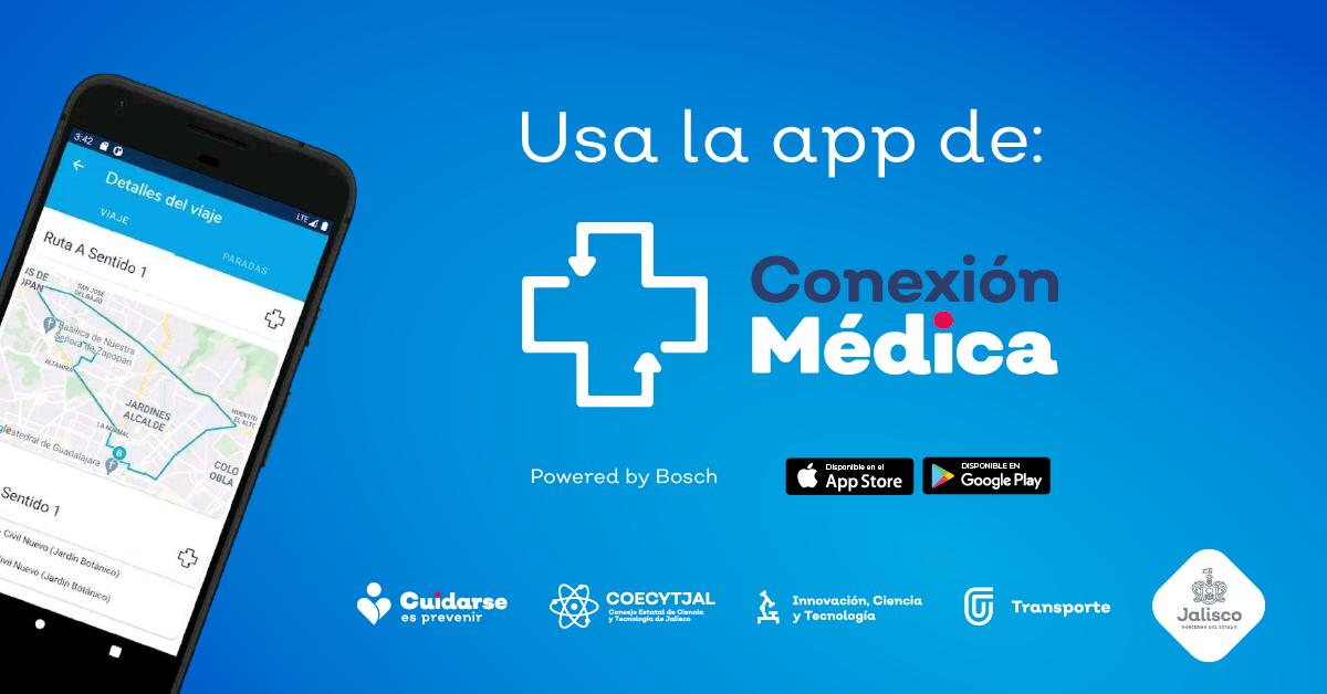 Conexión Médica ya cuenta con aplicación móvil