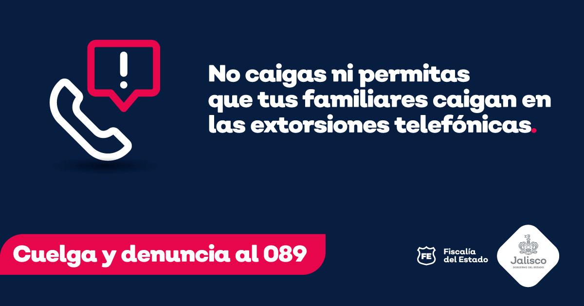 Jalisco se defiende de las extorsiones