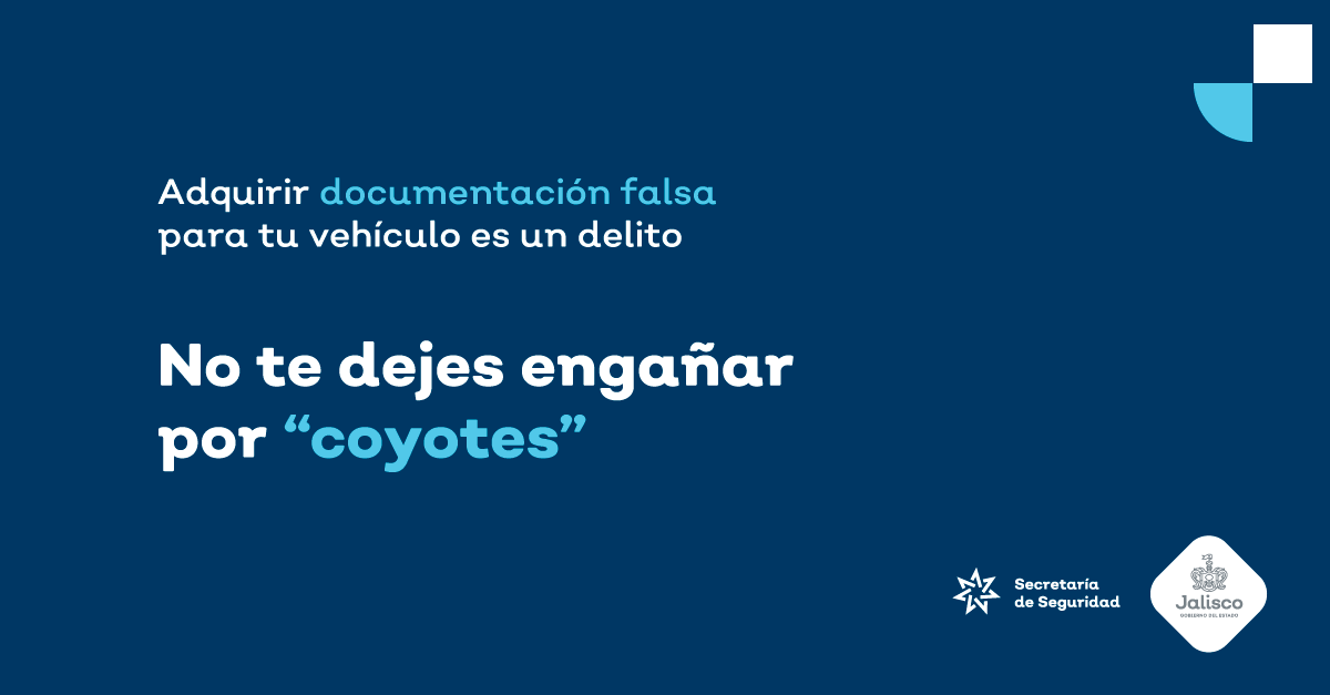 """No te dejes engañar por """"coyotes"""""""