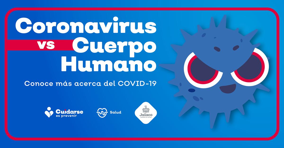 Coronavirus vs el cuerpo humano