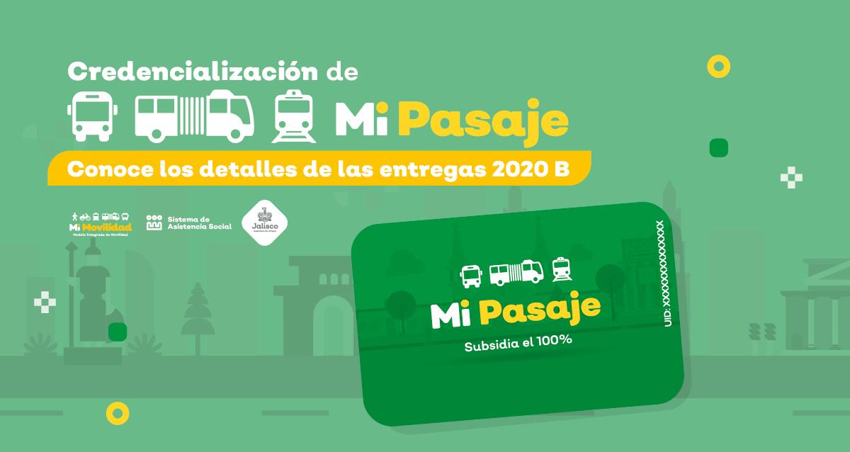 Entregas apoyo social Mi Pasaje 2020 B