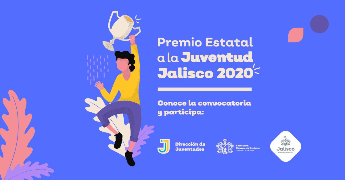 Premio Estatal a la Juventud Jalisco 2020
