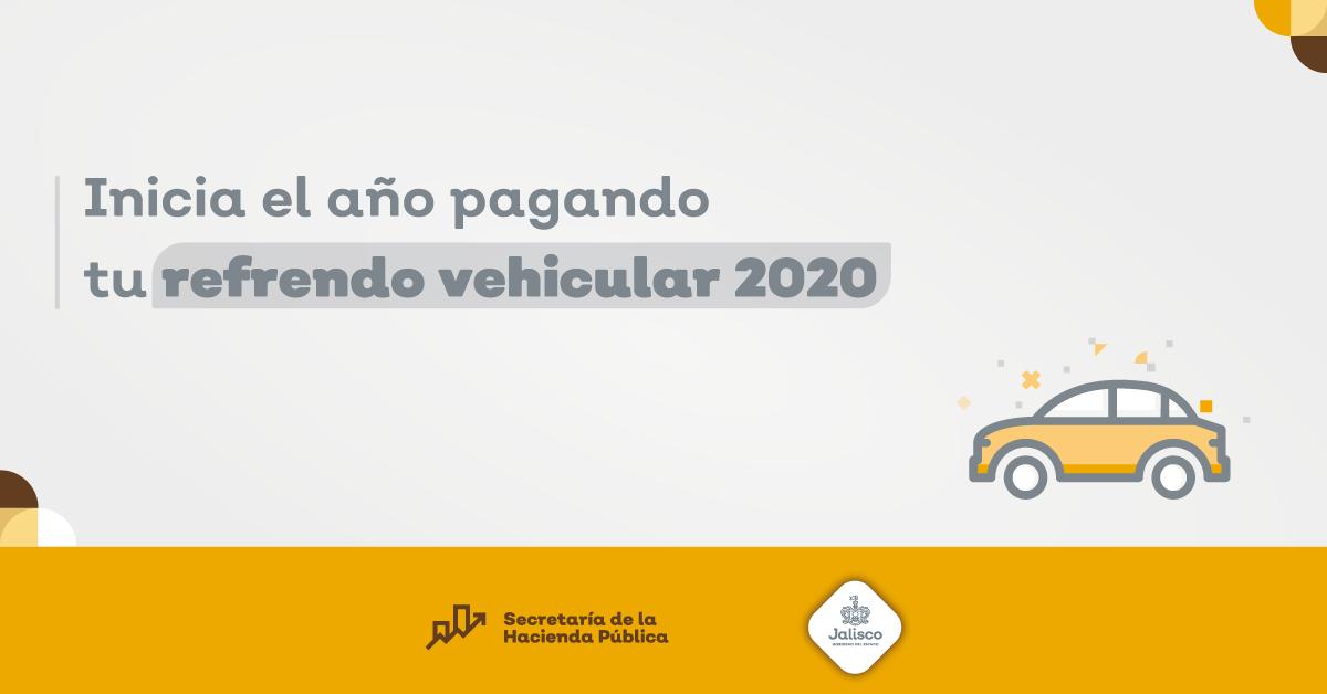 REFRENDO VEHICULAR 2020
