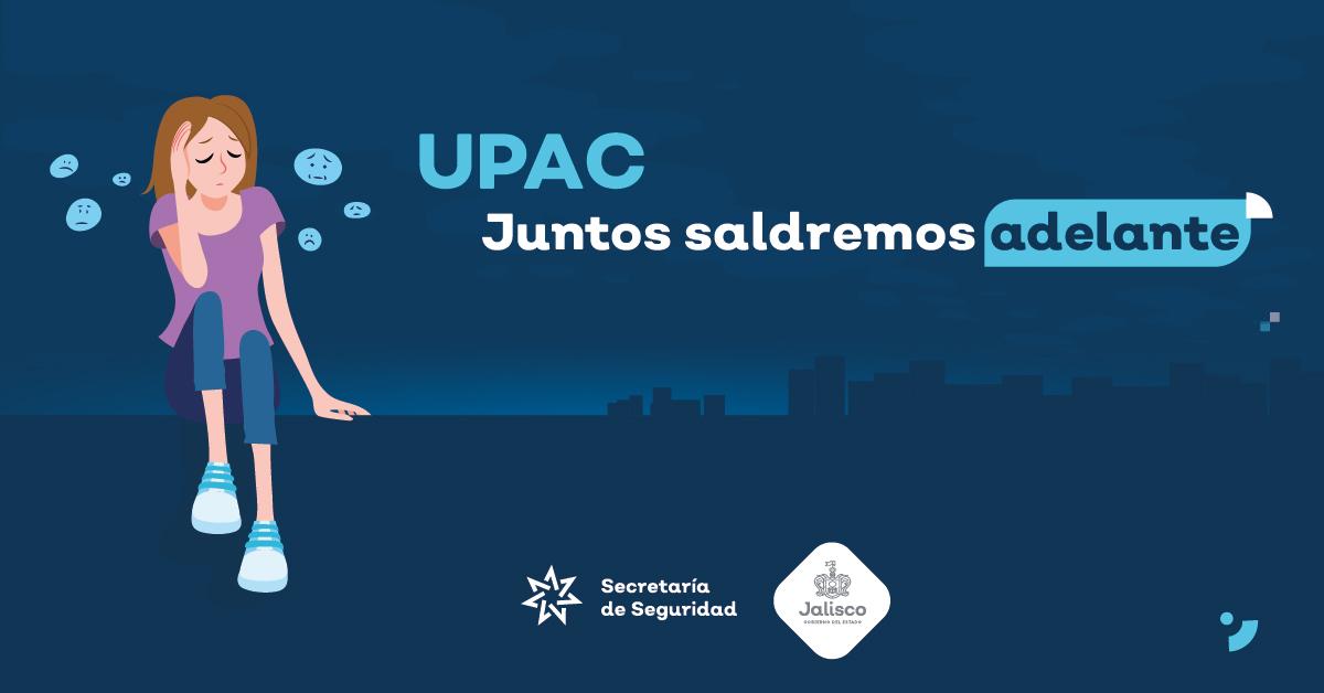 UPAC de la Policía del Estado atiende crisis emocionales