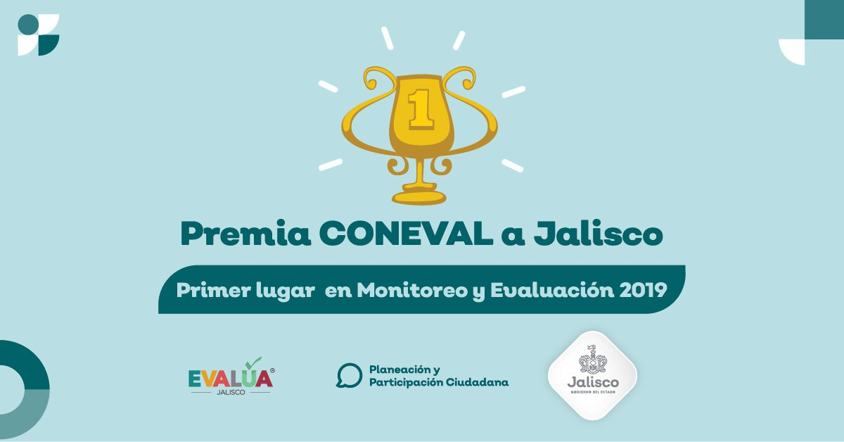 Jalisco, primer lugar en el Diagnóstico del Avance en Monitoreo y Evaluación en las Entidades Federativas 2019