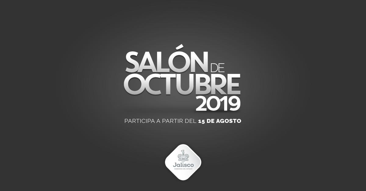CONVOCATORIA SALÓN DE OCTUBRE 2019