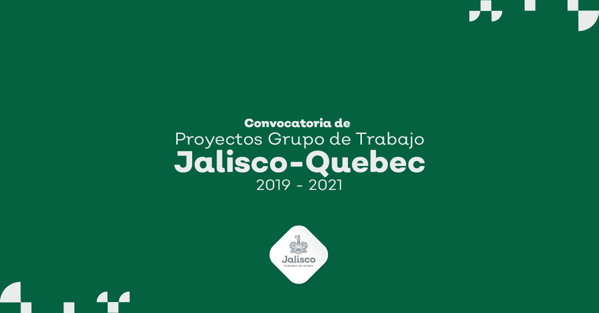 Grupo de Trabajo Quebec-Jalisco 2019-2021