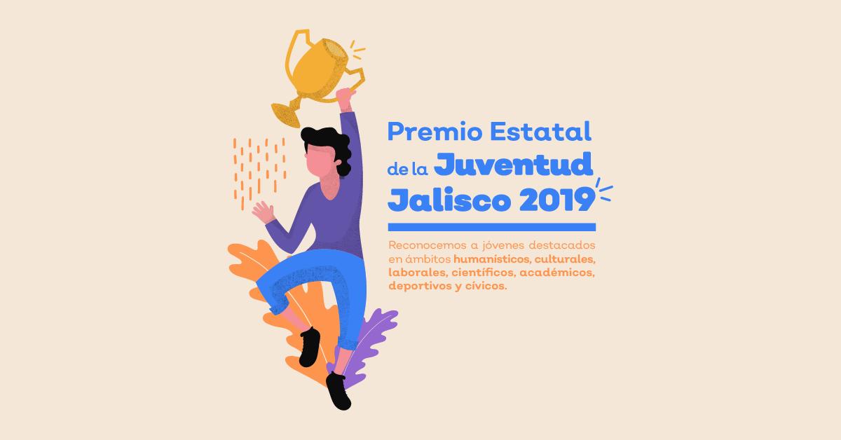 Convocatoria para Premio Estatal de la Juventud 2019