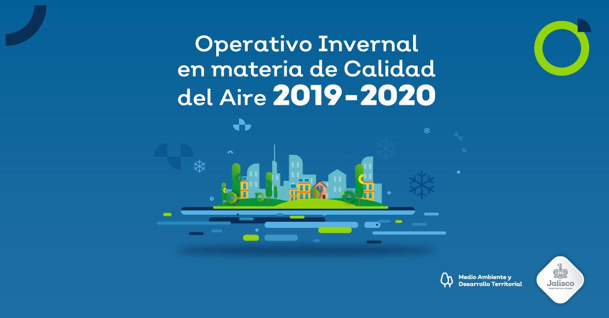 Operativo Invernal 2019-2020 para el Estado de Jalisco
