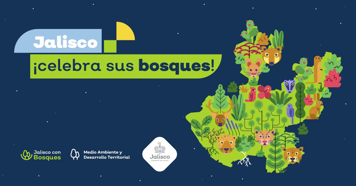 Jalisco celebra sus bosques