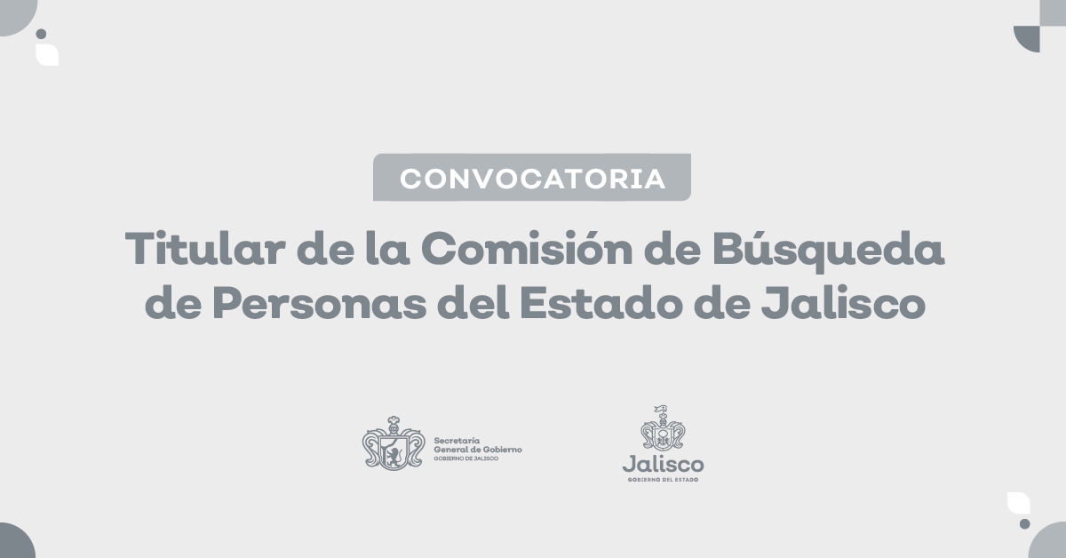 Gobierno de Jalisco Convoca