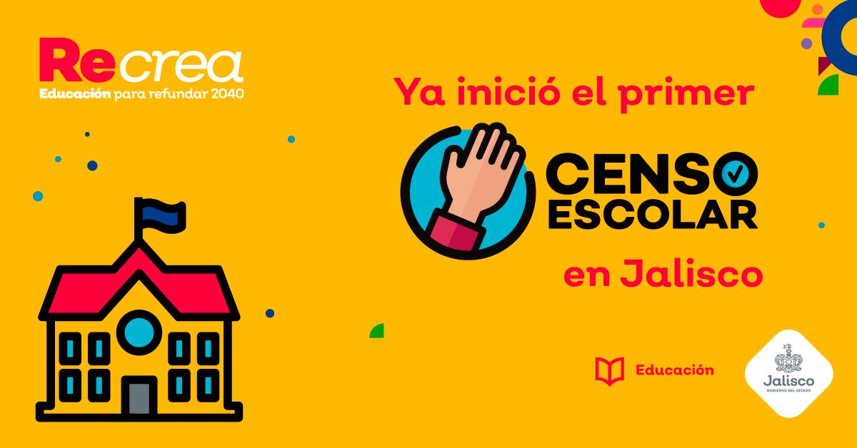 Arranca el Censo Escolar de Jalisco
