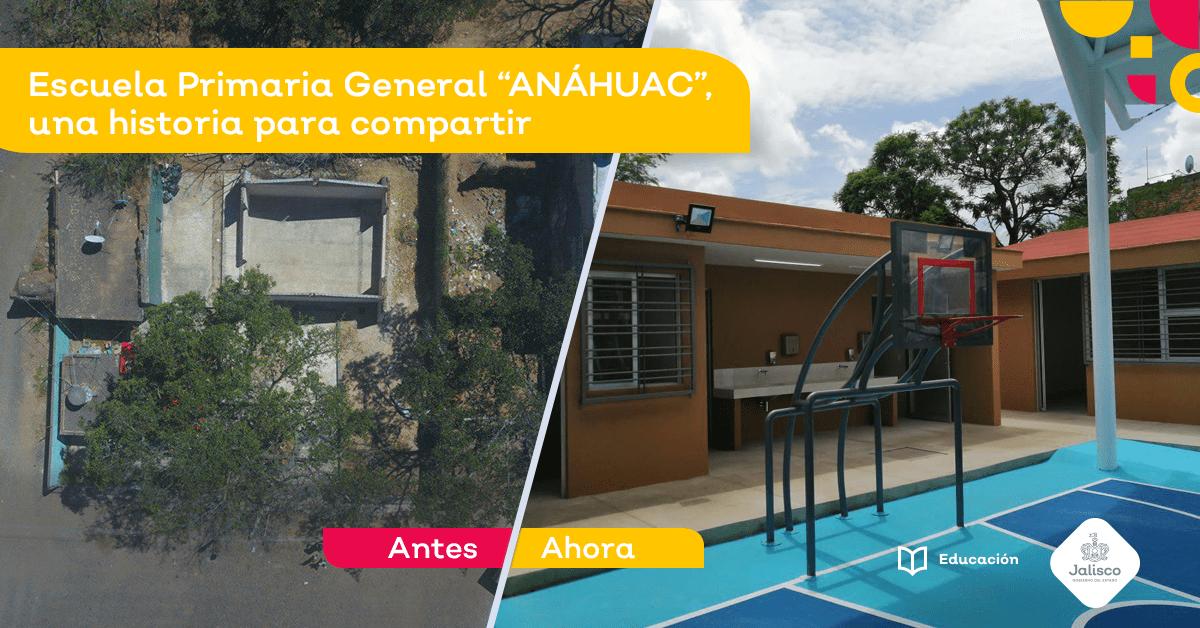 """Escuela Primaria General """"ANÁHUAC"""", una historia para compartir"""