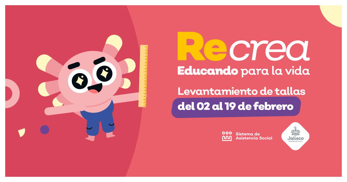 LEVANTAMIENTO DE TALLAS DIGITAL DE RECREA JALISCO