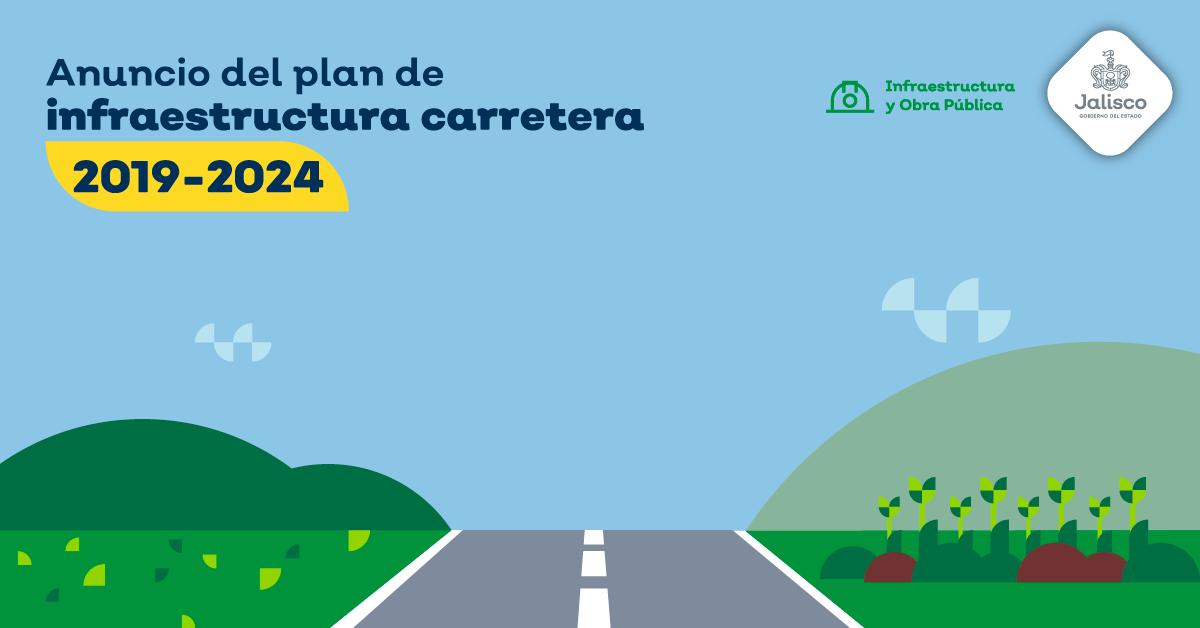 ANUNCIO DEL PLAN DE INFRAESTRUCTURA CARRETERA 2019-2024