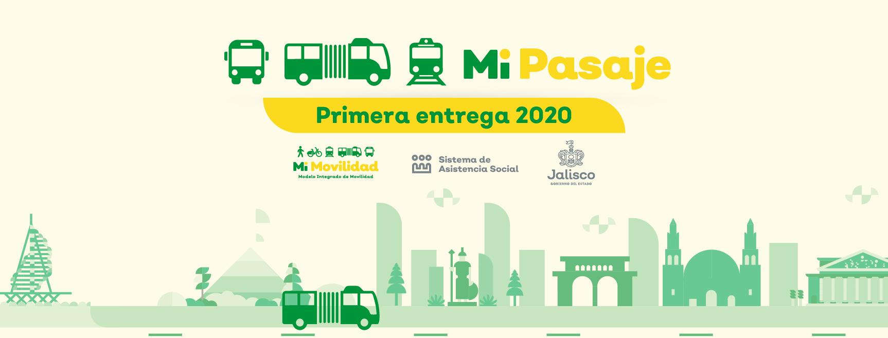 PRIMER ENTREGA DE MI PASAJE 2020 A