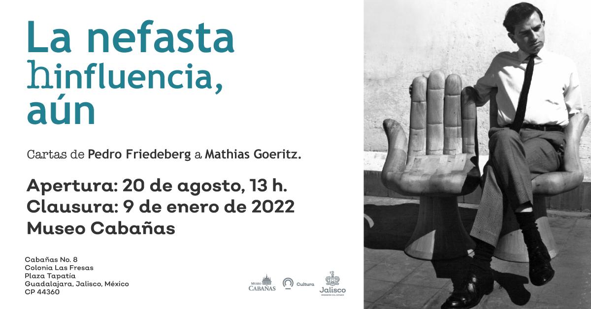 """""""La nefasta hinfluencia, aún"""", exposición en Museo Cabañas"""