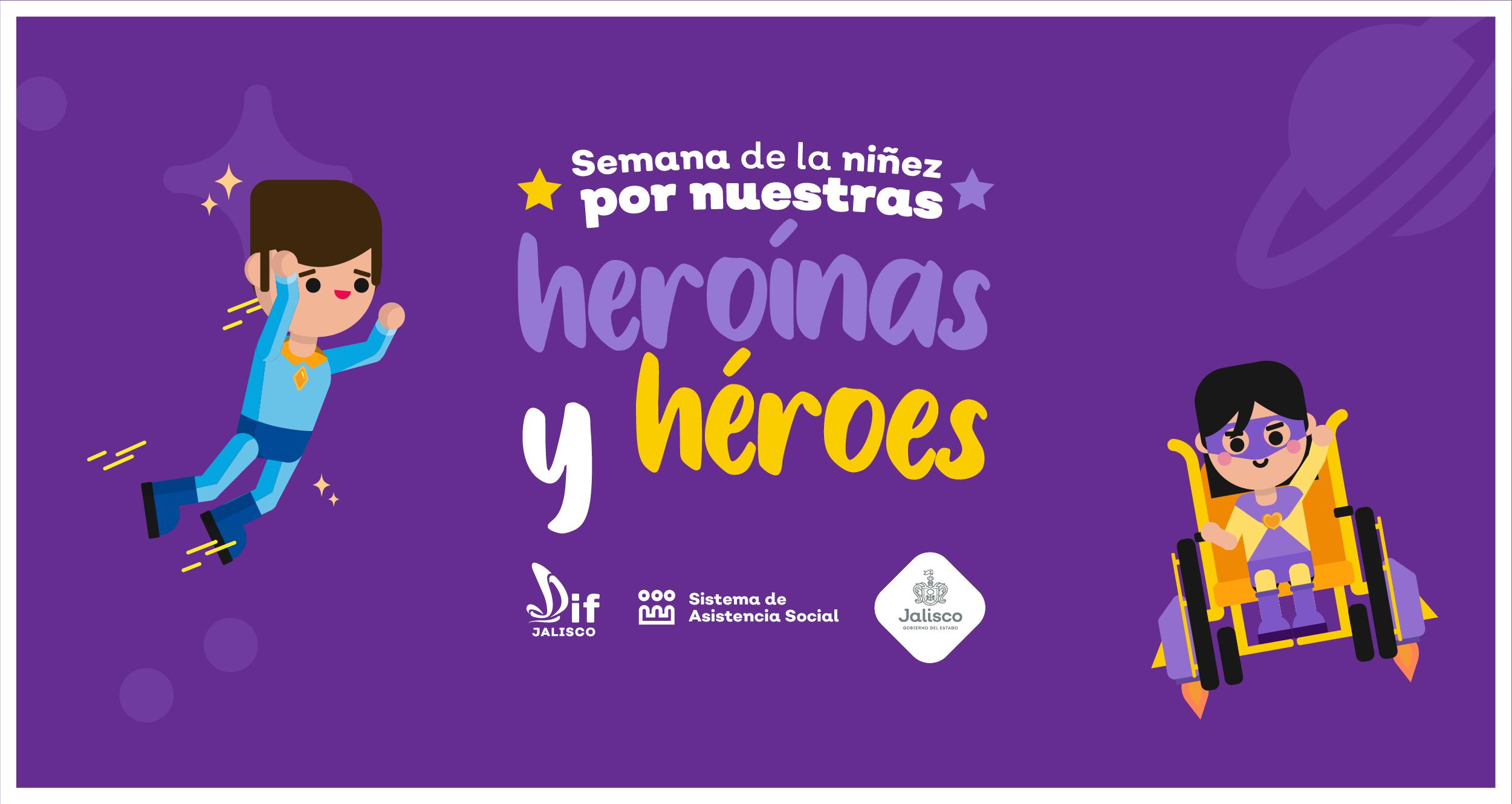 En Jalisco, celebramos el Día del Niño ¡toda una semana!