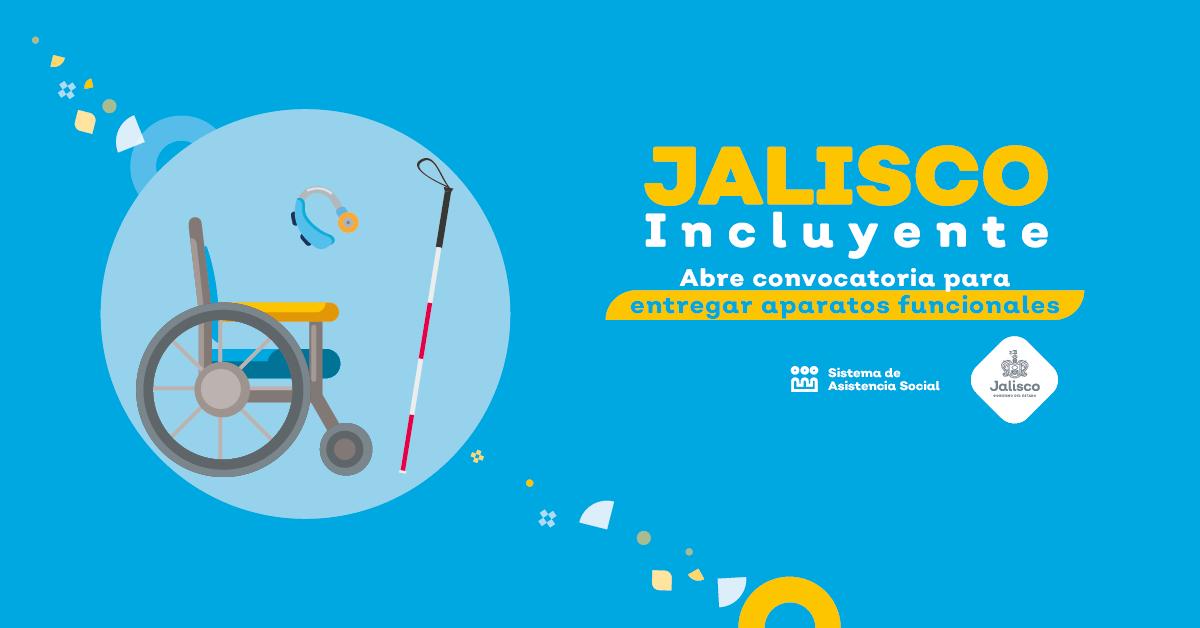 Jalisco Incluyente abre registros para entregar aparatos funcionales