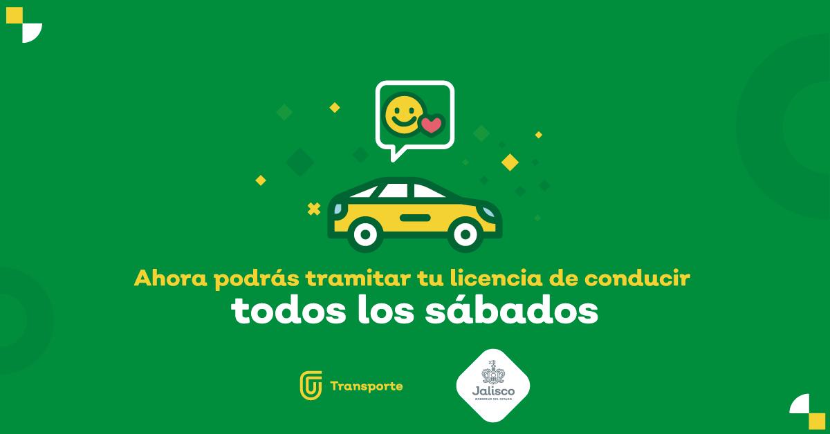Todos los sábados del mes se podrá tramitar la licencia de conducir.