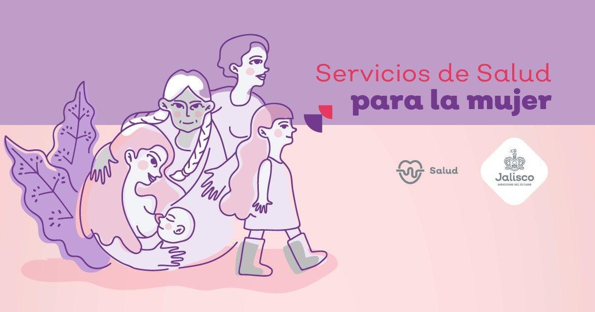 Servicios de Salud Jalisco para la mujer