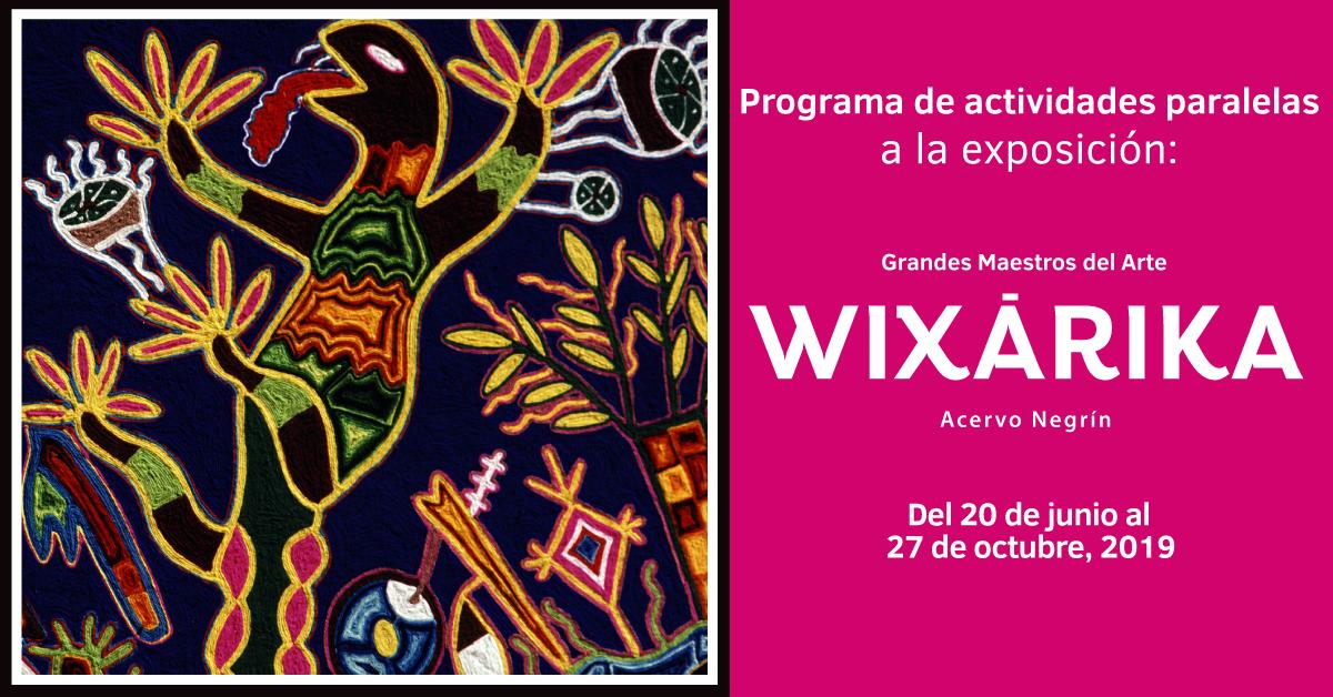 Grandes maestros del arte Wixárika