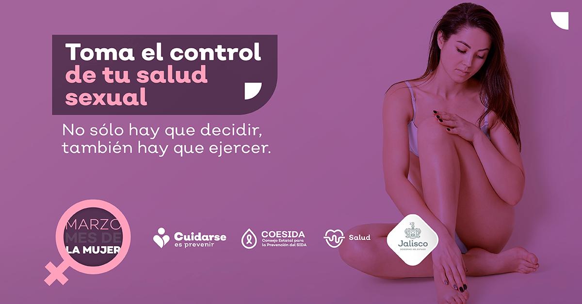 Toma el Control, de tu Salud Sexual - 8M 2021