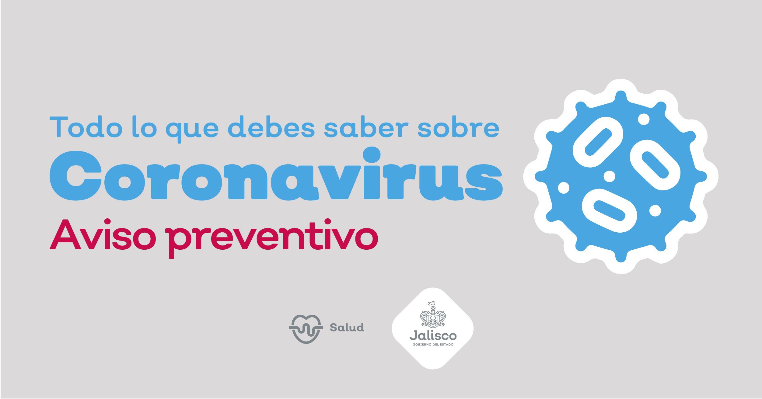 Coronavirus Gobierno Del Estado De Jalisco