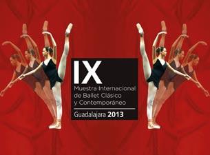 Muestra INternacional de Ballet Clásico y Contemporáneo Guadalajara 2013