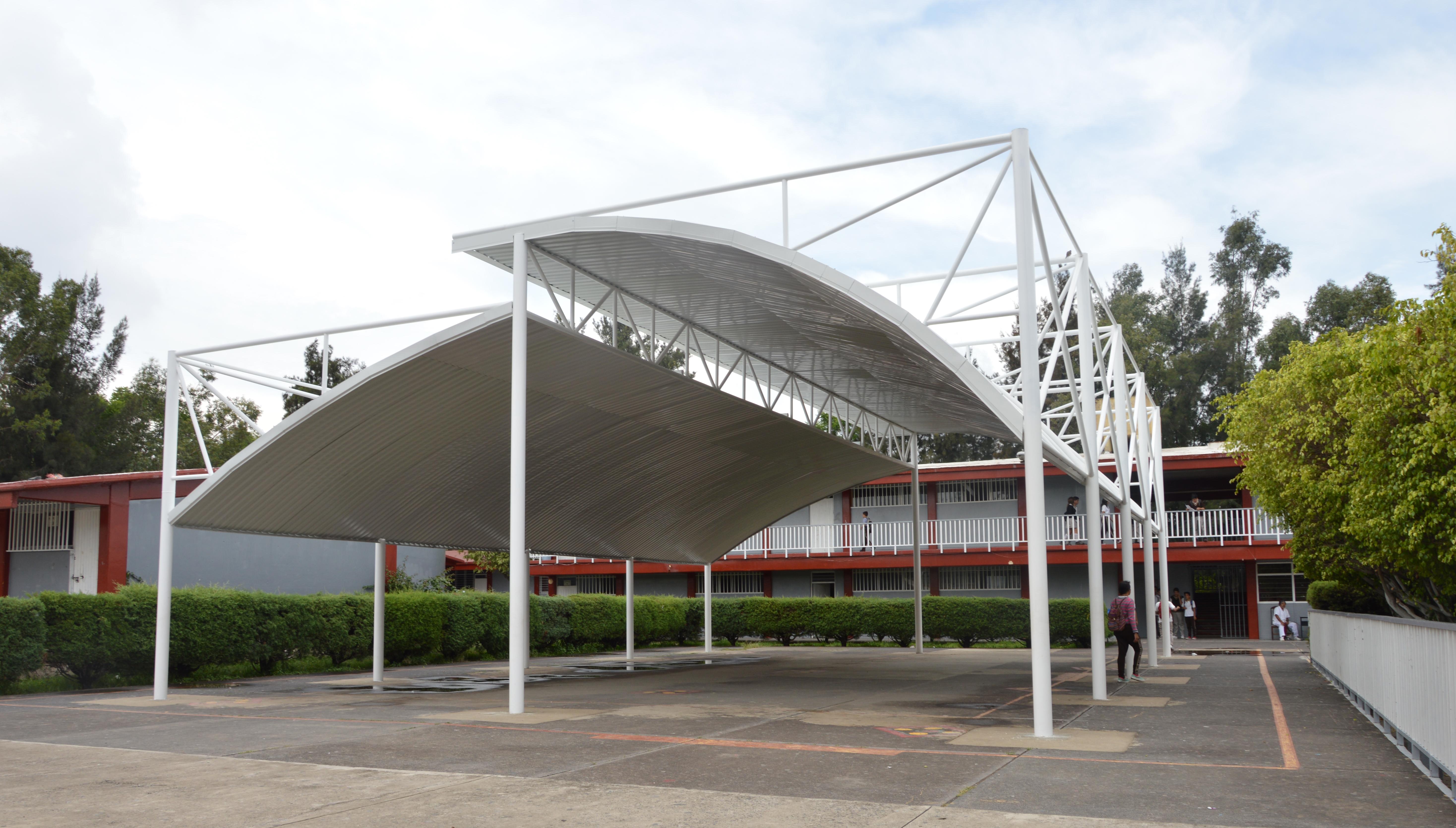 Instalan Malla Sombra En 28 Planteles Escolares Gobierno