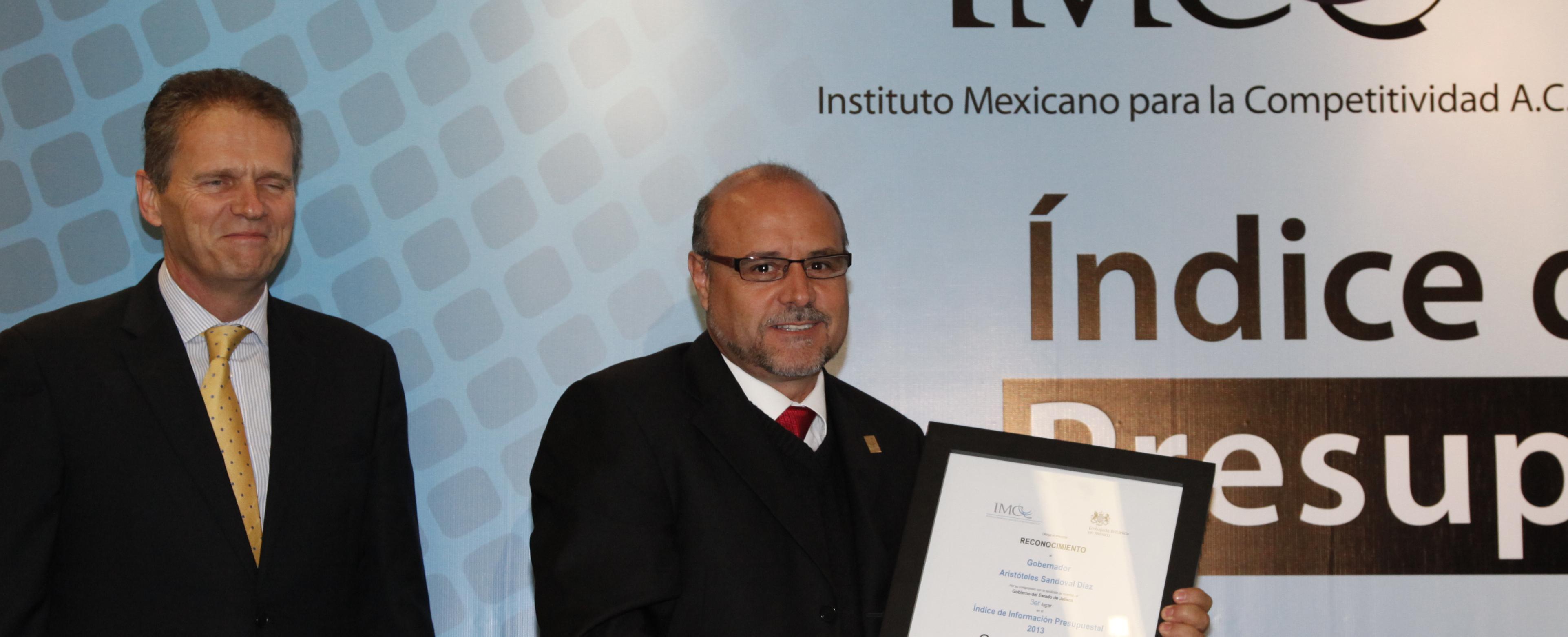 Avanza Jalisco en materia de Transparencia y Rendición de cuentas  - IMCO 2013