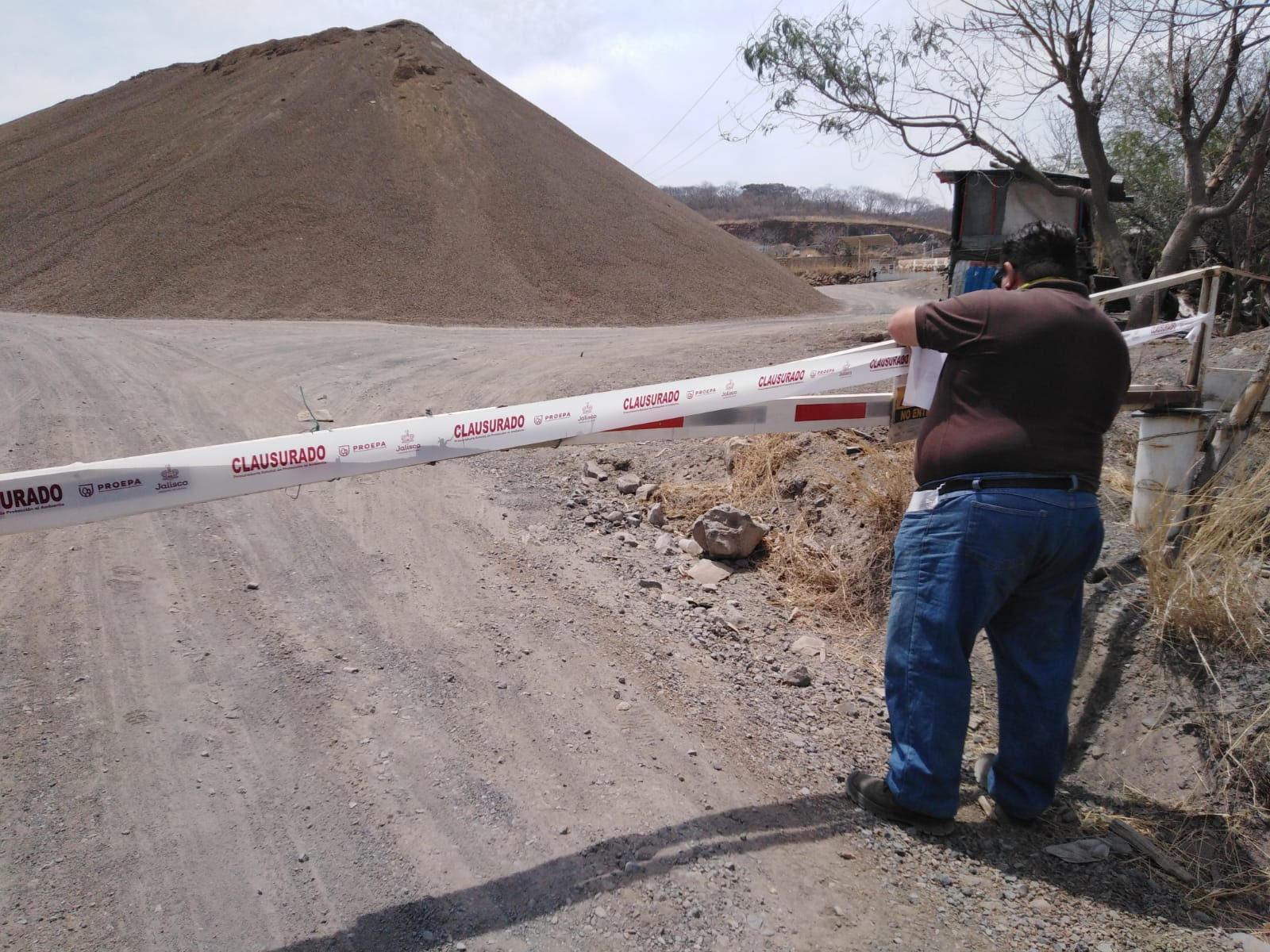 Clausura Proepa banco de material geológico en Jocotepec