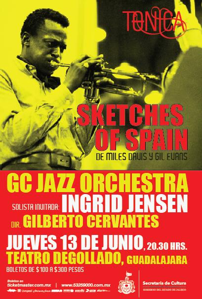 Presentarán Sketches Of Spain en el Teatro Degollado