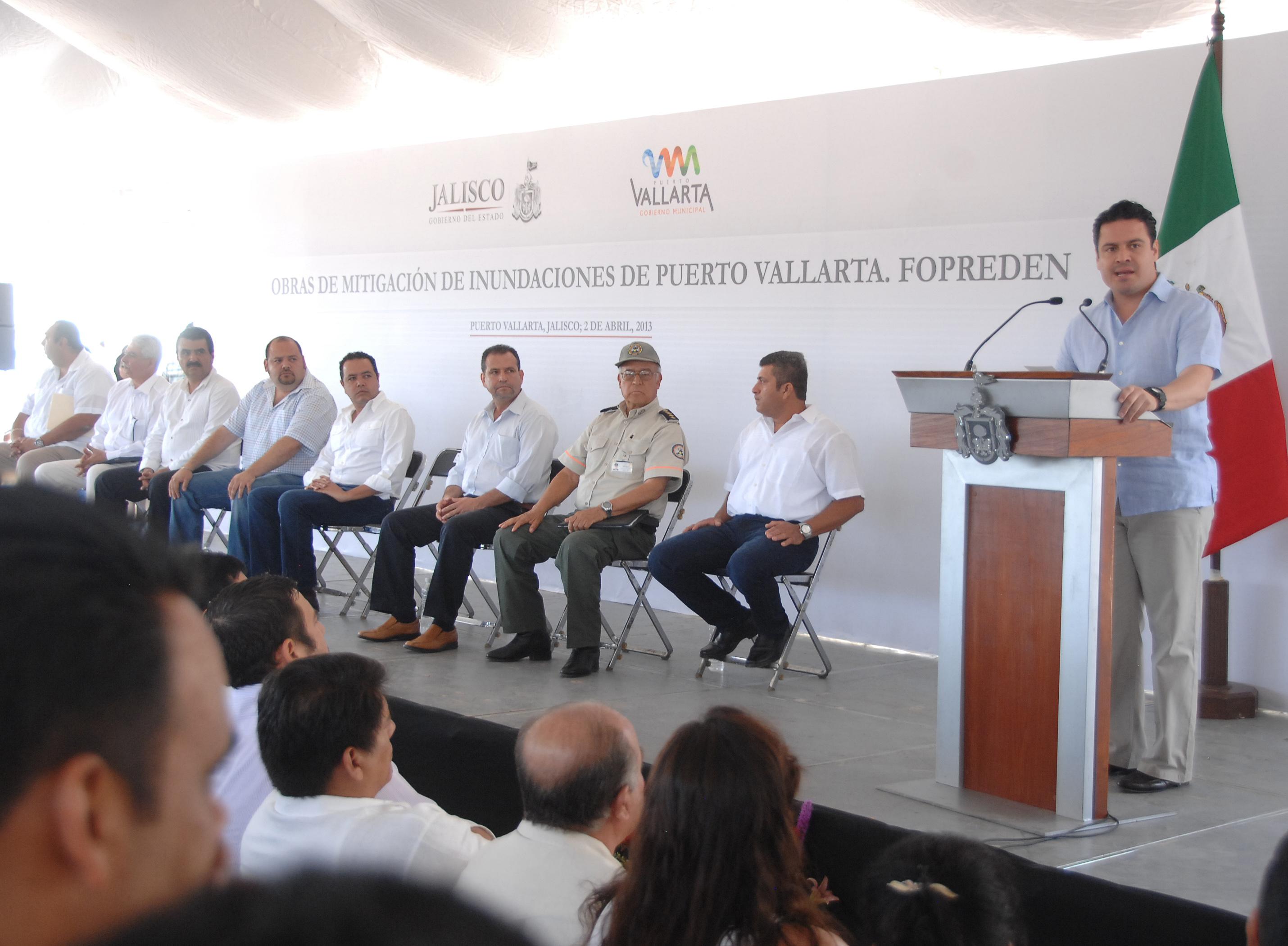 Invertirá Jalisco 34 mdp en obras en Vallarta